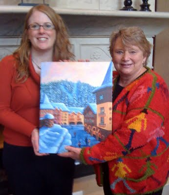 Grand Prize winner of Kendra Smith limited edition giclee of Sun Peaks